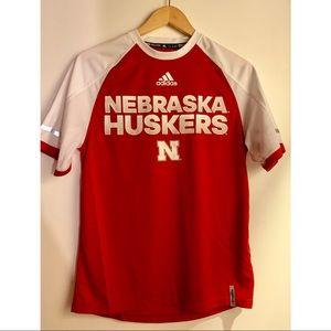 Nebraska Huskers dri-fit jersey
